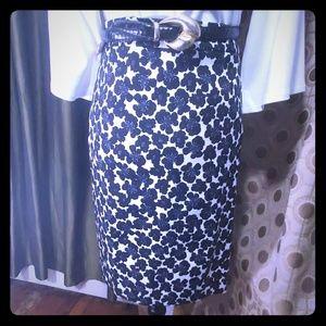 J. Crew Midi Pencil Skirt
